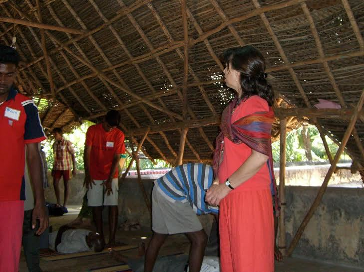 Deborah Teaching in India