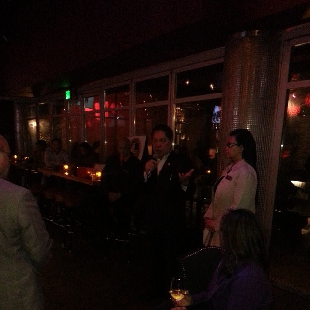 Las Vegas Chamber of Commerce! !! Business Mixer and charity for helping Victims from typoon in Philippine. #typoon #lvcc #Geishahouse #vegas #charity #philippine (at Geisha House Steak & Sushi)