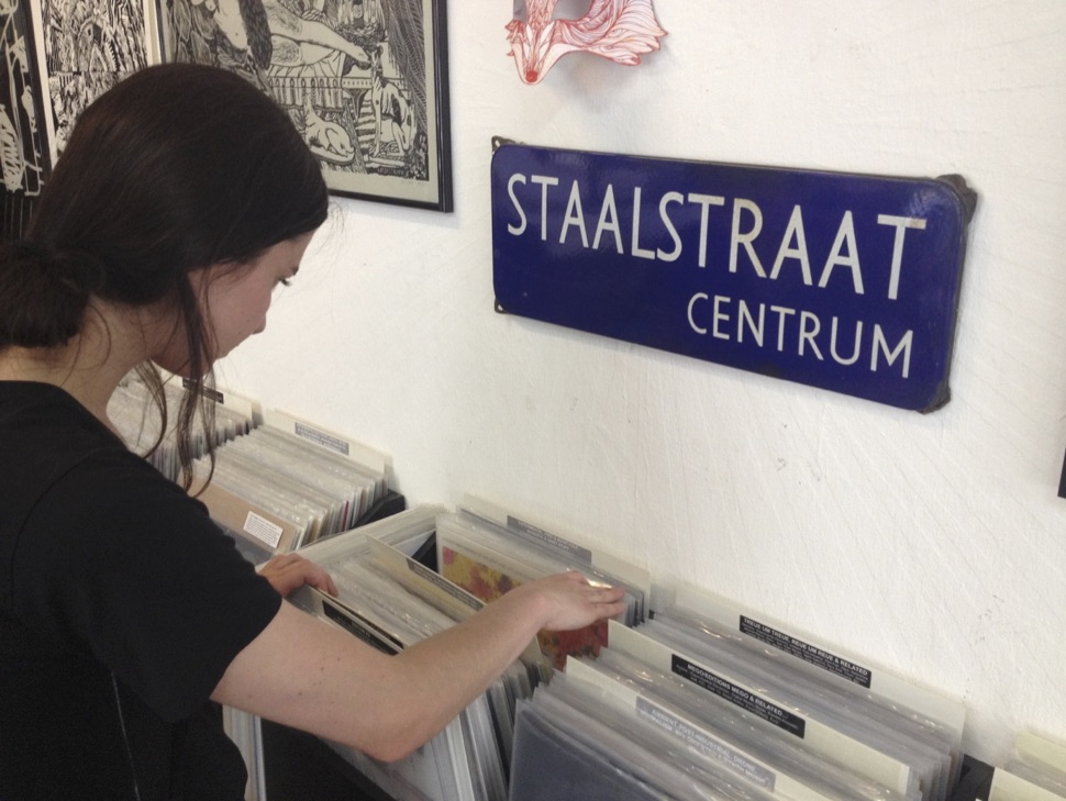 Izabel Caligiore crate digging.jpg