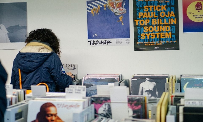 BIIT ME RECORD STORE / Photo credits:BIIT ME RECORD STORE