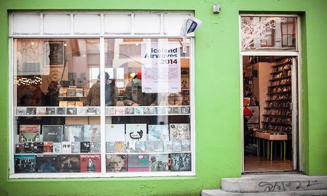 Smekkleysa Bad Taste Record Store. Photo credits:Tim Boddy
