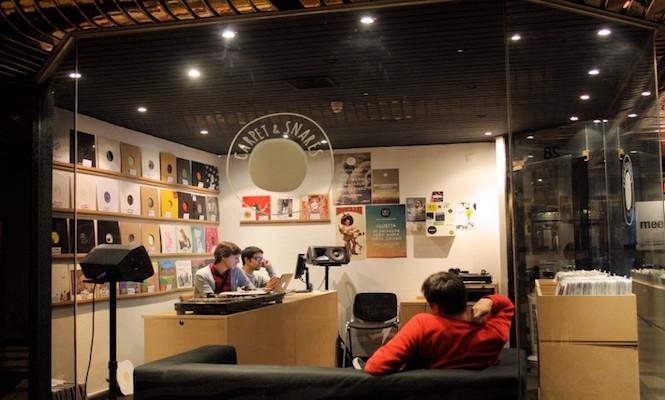 Carpet & Snares / Photo via Lisbon Record Shops