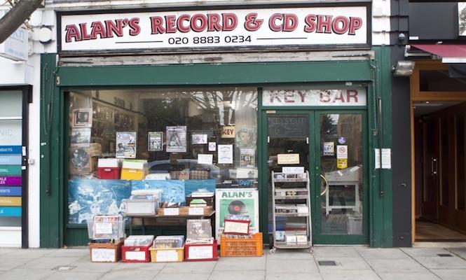 Alan's Records /Photo via Arfefact Magazine