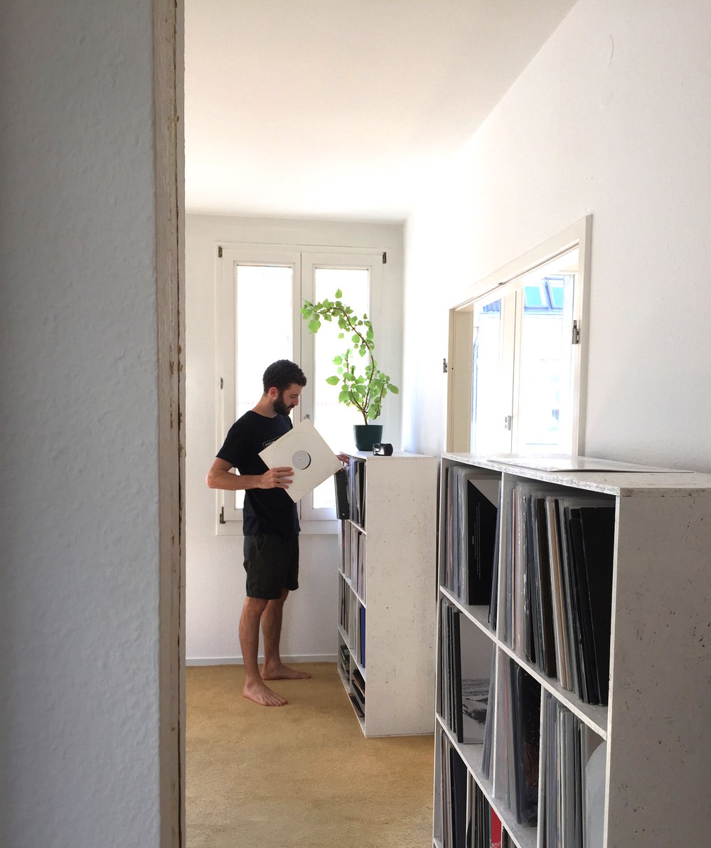 Roi Perez' record collection