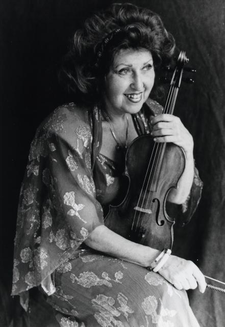 Legendary violinist, Ida Haendel