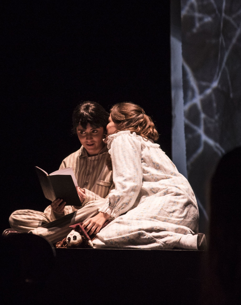 """""""It was such a wonderful experience to be surrounded by so much talent.It was truly a great honor and I look forward to participating next year! """"     Valeria Vega ,2016 High School Participant as Miles in Britten's  The Turn of the Screw"""