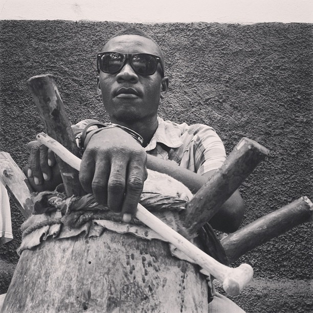 Le tambourineur #drummers  #music #haiti #voodoo #bnw #dance #ayitise