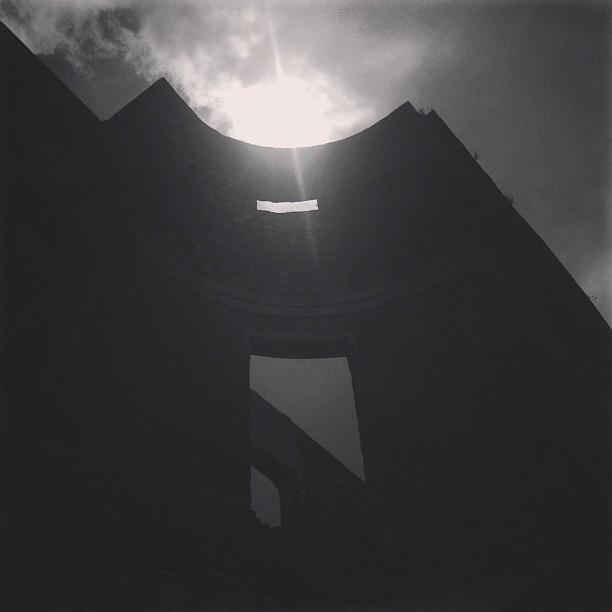 #palaissanssoucis #silhouette #architecture #structure #haiti #haititourism #tourism #palace #milot