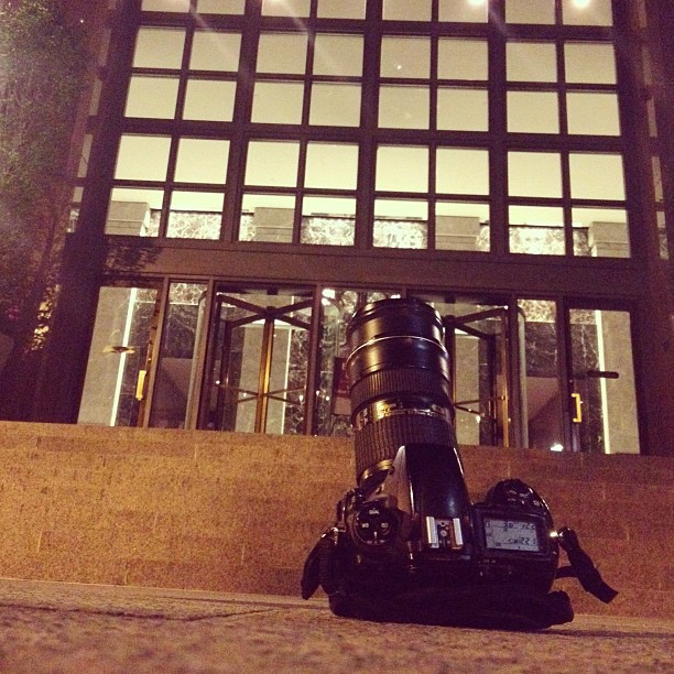 The setup #nightphotography #Boston #nikon #nikond700 #longexposure