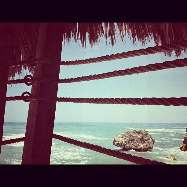 Vue sur mer #restaurant #hotel #beach #haititourism #InstaSize #haiti #ayitise #jacmel #marigot #marine #sea #sky (at Vue sur mer Restaurant)