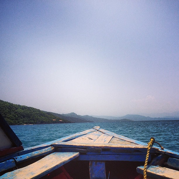 On our way to paradise #ayitise #haiti #haititourism #labadee #sea #sky #kanot