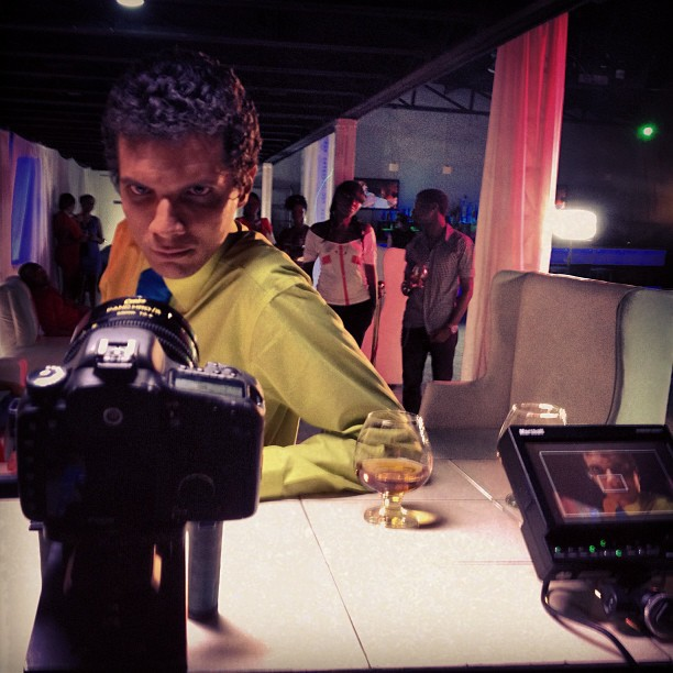 BlackStone commercial #BTS #filming #graphcity #canon #dp #haiti #commercial  (at Club One 6)