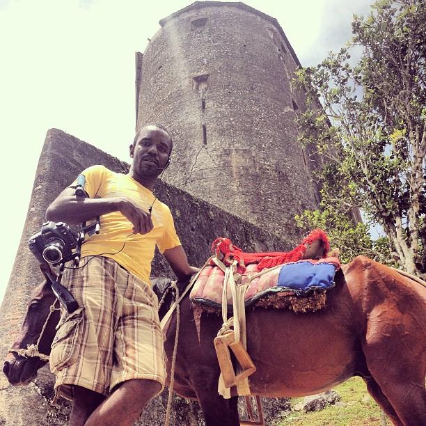 Me and my ride #cheval #hrmarsan #lacitadellelaferriere #haititourism #ayitise  (at Citadelle La Ferrière)