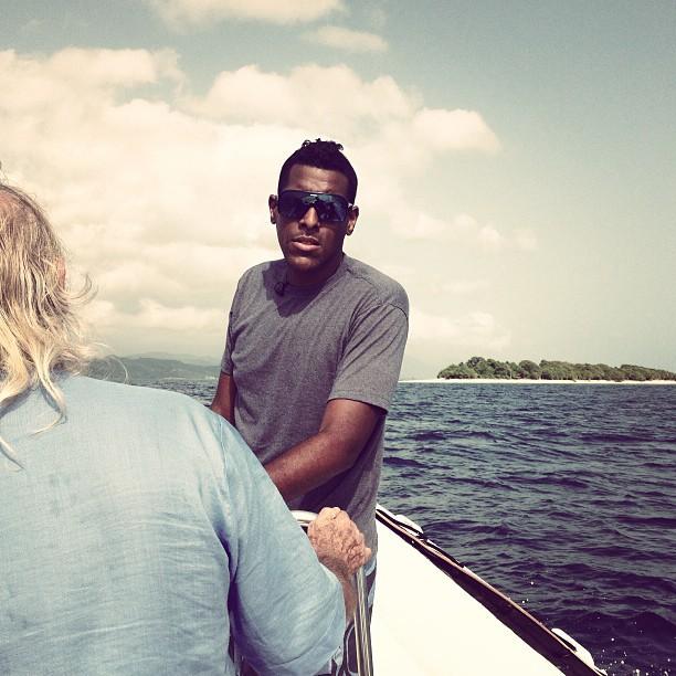 En route vers l'île Amiga #ayitise #haiti #haititourism #island #sea #beach  (at Amiga island)