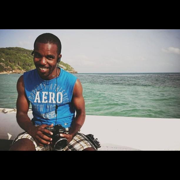 #onset #filming #ayitise #fun  #canon #dp #sea #haiti  (at Cormier Plage)