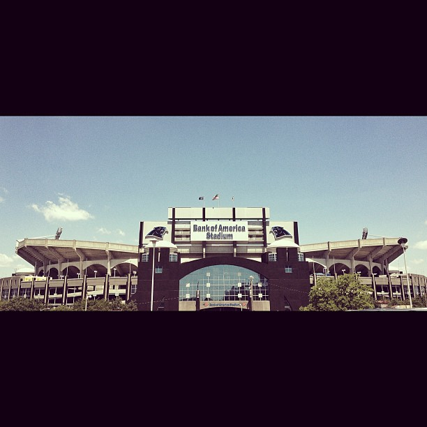 Bank of America Stadium #football #Carolina  #Panthers #stadium #sport #architecture #instasize