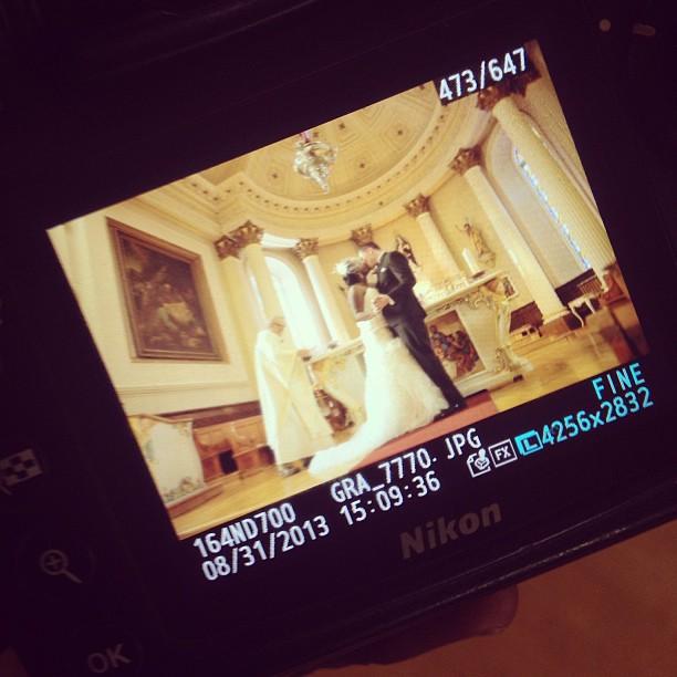 The kiss #wedding #weddingphotographer #nikon #nikond700 #montreal