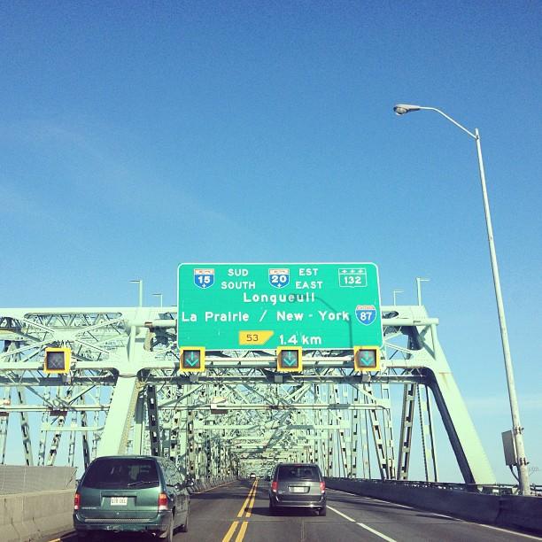 Au revoir #montreal #traveling #roadtrip #pontchamblain
