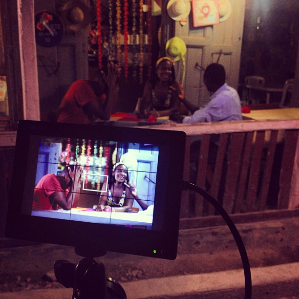 Shooting at the Saloon 😂😂 #filming #ayitise #nightshot #canon #zeiss #marshall #graphcity #dp #directorofphotography #lighting #molestnicolas #onfwa