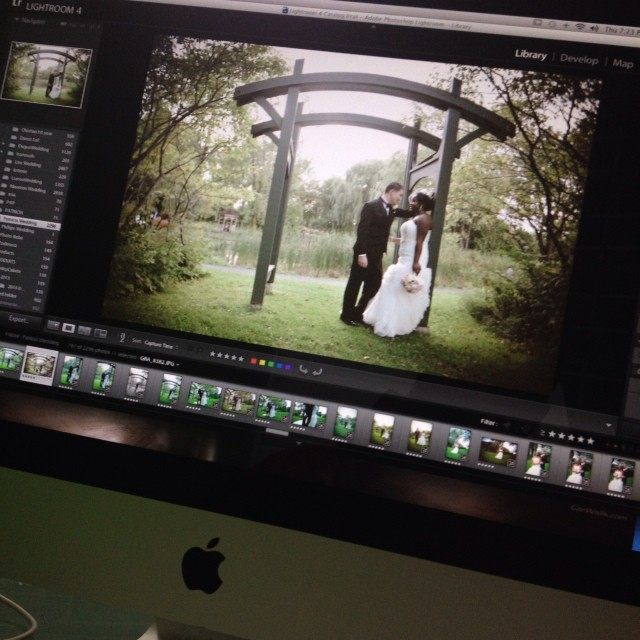 Almost done @colormepat #editing #wedding #weddingphotography #photographer #adobe #lightroom #imac #montreal  (at Graphcity)