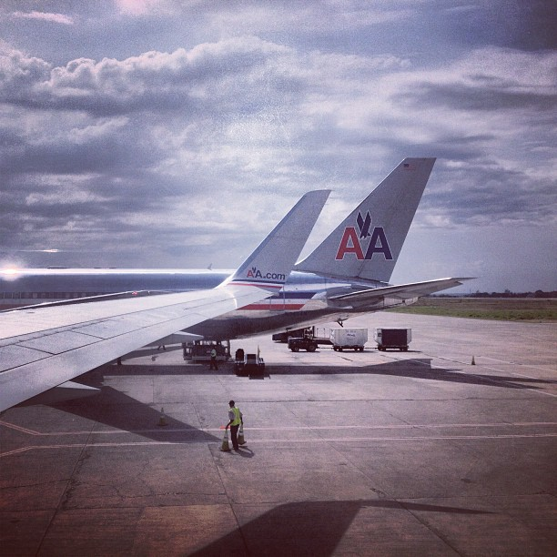 My next pics will be from #Boston #bye #plane #americanairlines #haiti #travel #traveling (at Toussaint Louverture International Airport (PAP))