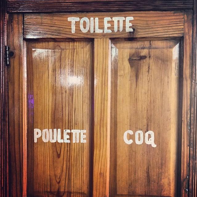 Unisex #restroom #haiti #unisex #restaurant #chicken #door  (at Chicken Fiesta)