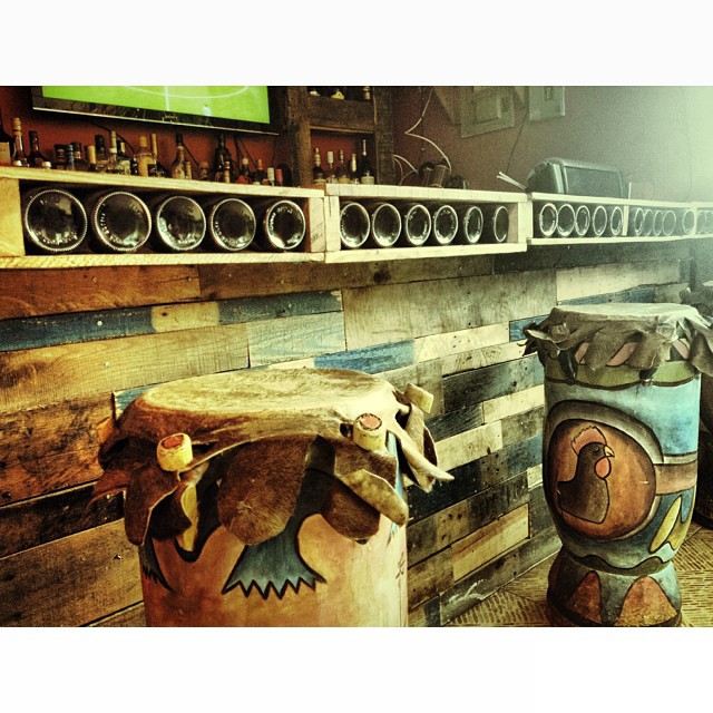 Tambou bar #bar #tambou #haiti #rustic #wood #original #hangout   (at Chicken Fiesta)
