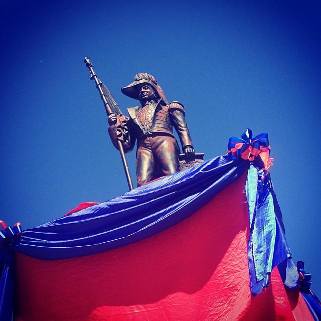 Empereur Jean-Jacques Dessalines #haiti #independance #emperor #haititourism #okap #1804  #filming  (at Place d'Armes Du Cap-Haitien)