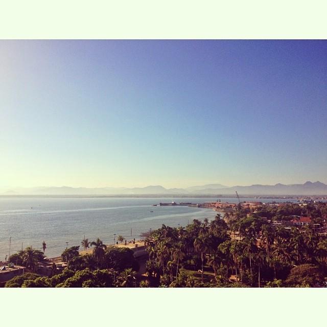 Bye bye Okap #landscape #haiti #haititourism #bay #sky #sea #city  (at Cap Haitien, Haiti)