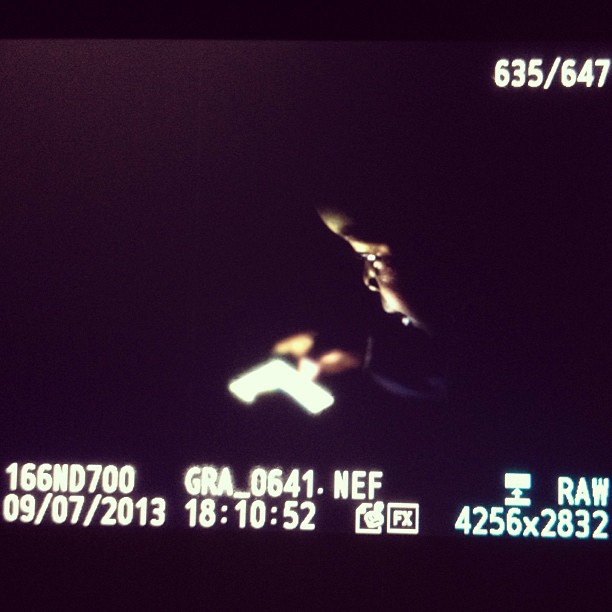 Quick photo-shoot for my princess #nightshot #lowlight #photography #nikond700 #fastlens #zeiss #iPhone   (at Laboule 10)