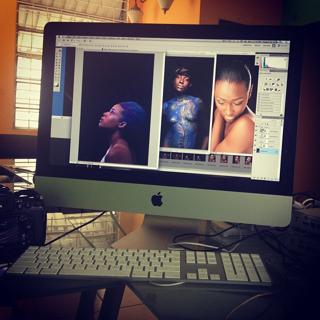 Eye love my Job #photographer #photography #hrmarsan #haiti #fashionphotographer #editing #beautyshoot #adobe #nikon #nikonD700 #lighting (at Graphcity)
