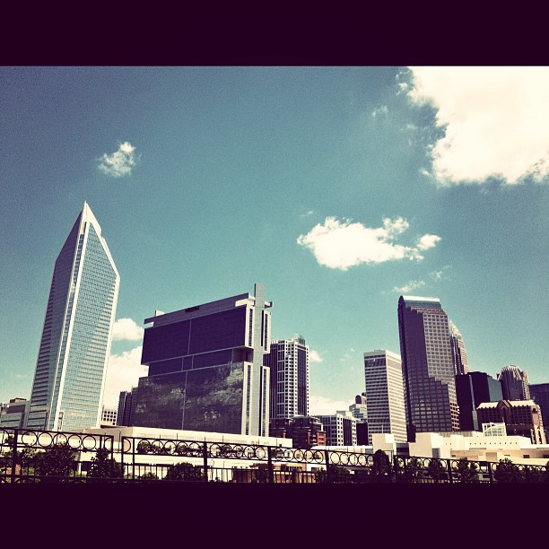 Charlotte NC #city #building #sky #InstaSize