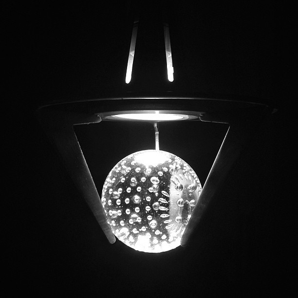Iris #lightbulb #light #eye #crystal #night #photography