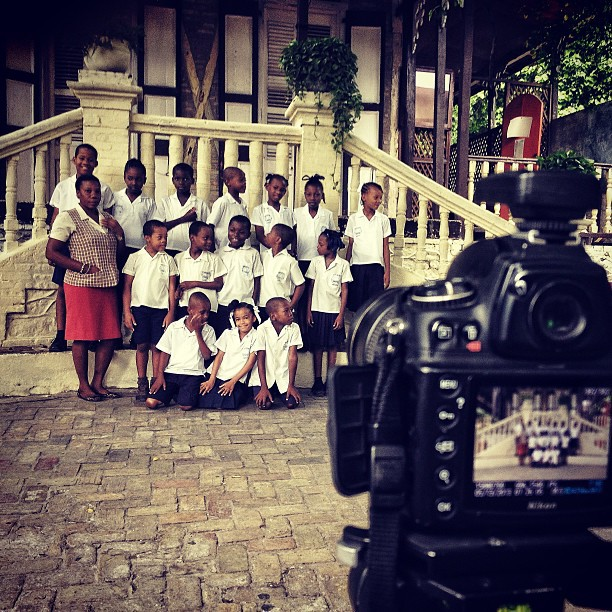 Picture Day! #school #portraits #photo #haiti #class #kids #happy #love #education #Graphcity #hrmarsan