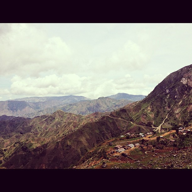 Deye mòn, se pa ti mòn #haiti #InstaSize #HaitiTourism #mountain #sky #landscape #nature