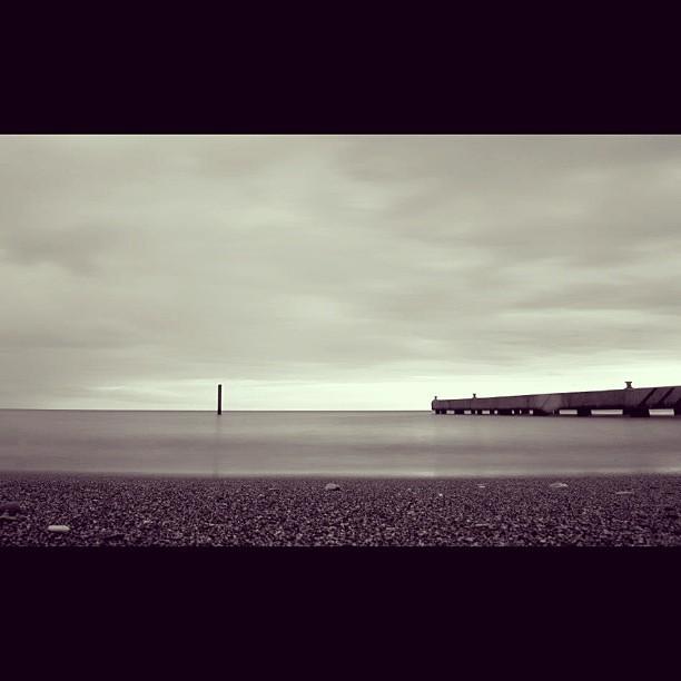 Port de Port-à-Piment #port #sea #landscape #longexposure #nikon #photography #bnw #blackandwhite #drama #InstaSize