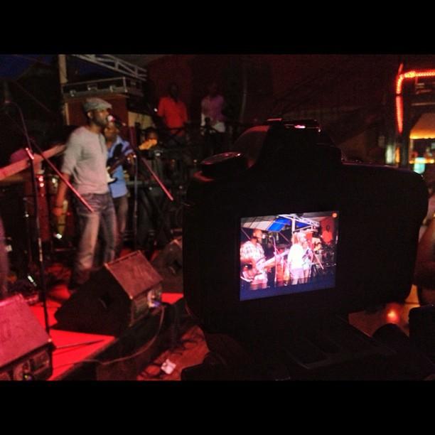 #toxic @thebackyard @pascallavoix  #filming #music #konpa #band