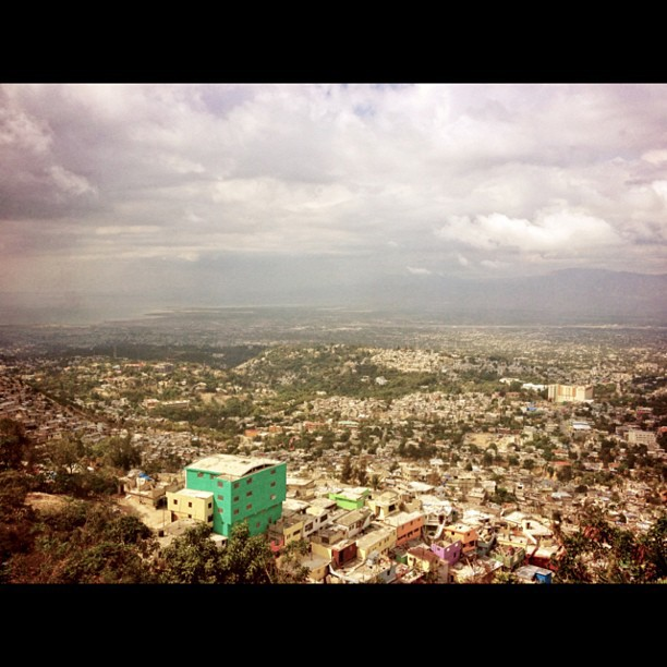 Jalouzi from above #petionville #Haiti #typic