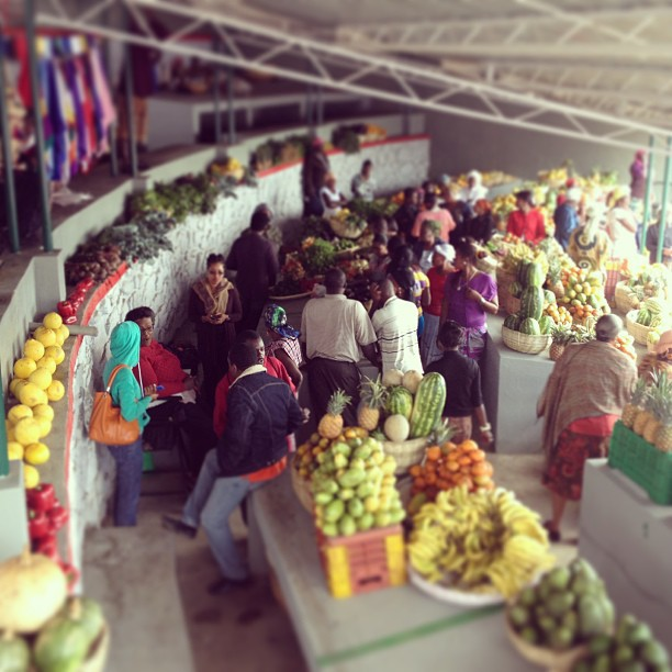 The market #fruits #Haiti