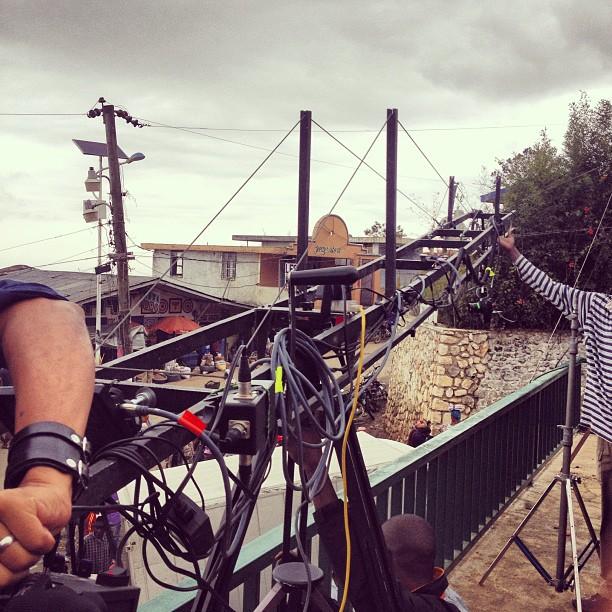 Day 2 of shooting #commercials #kessler #crane #cooke #lens #panchros #Haiti #Graphcity