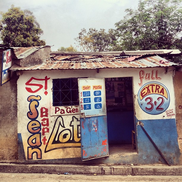 St jean Lotto #bolet #lottery #Haiti #architecture  (at Kenscoff)