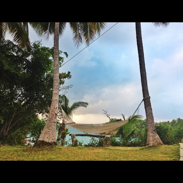 Paradise #sea #view #beach #jacmel #haiti #hotel  (at Hotel Cyvadier Restaurant, Jacmel)