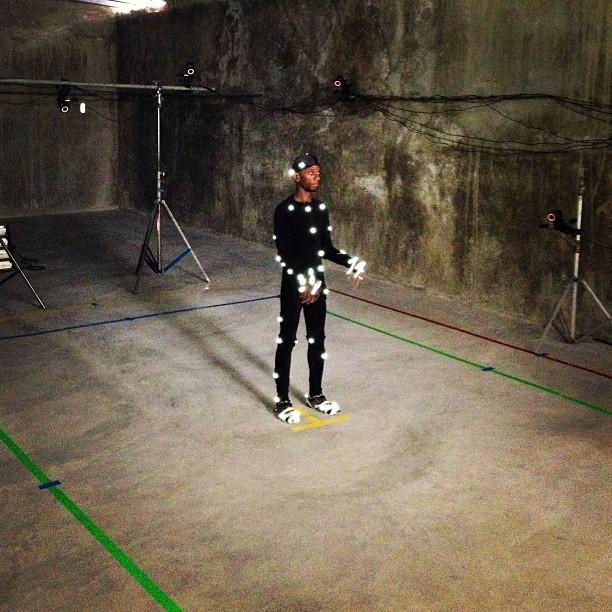 Motion capture setup @graphcity #mocap #motioncapture #3Damination #3d #cartoon #vfx #haiti #vicon