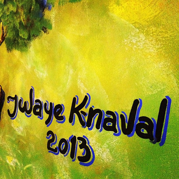 Jwaye k-naval 2013 #kanaval2013 #okap  (at Place Carenage)