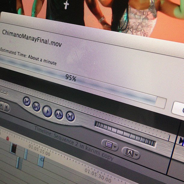 Chimano Manay in a few! #rendering #carimi #kanaval2013 #finalcutpro #videography