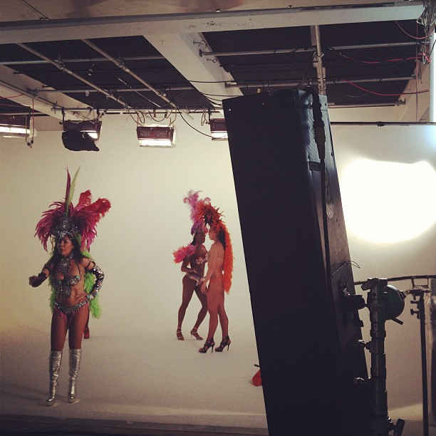 Just a tease #Brazilian #dancers #carnival #shooting #graphcity