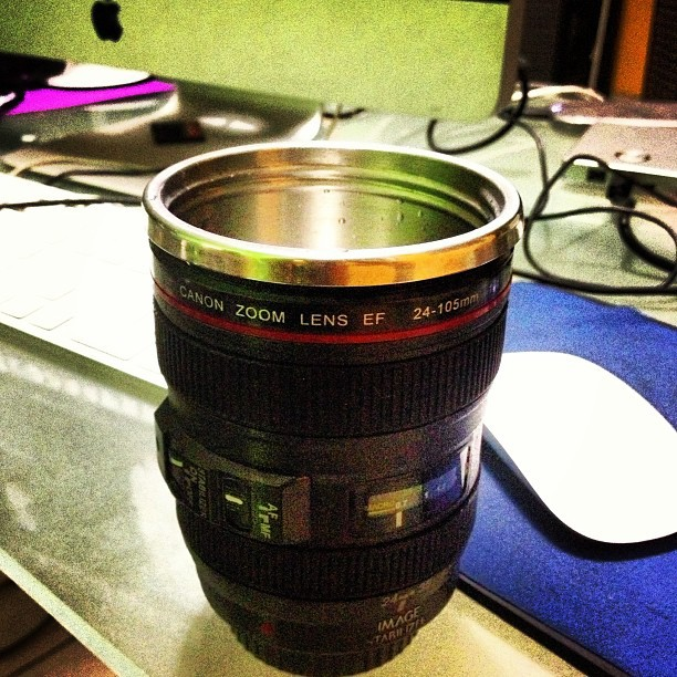 Still working! #lenscup #canon #24-105mm #imac #lens #editing