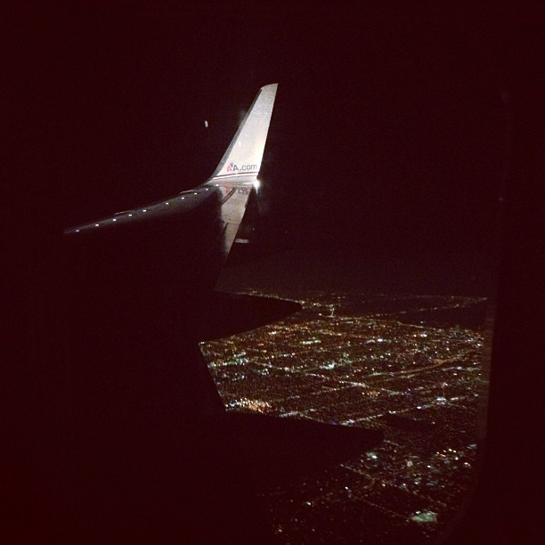 From the sky! #Miami