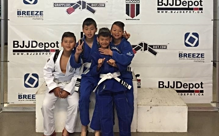 Kids BJJ burnaby