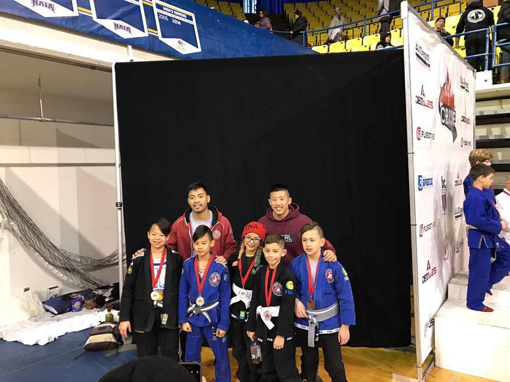 Burnaby Kids BJJ Team